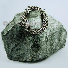 Antique Finish Stretchable Fashion Bracelet
