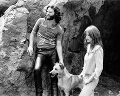 """Who: Pamela Courson Nationality: American Band Mate: Jim Morrison Vibe: Jim Morrison's """"cosmic mate"""" Pamela Courson was a fine-boned, freckled, redhead hippie chick from NorCal who ran away to West Hollywood, where she met Doors frontman Morrison, and where she would open her short-lived boutique, Themis. Inspired: Courson inspired Doors songs like """"Queen of the Highway,"""" and """"Blue Sunday,""""and was played by Meg Ryan in Oliver Stone's 1991 biopic, The Doors, alongside Val Kilmer."""