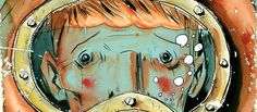 Creator Jeff Lemire talks about one of his most stunning graphic novel creations: The Underwater Welder. Underwater Welding Salary, Ryan Gosling, Deep Sea, Mystery, Novels, Projects, Anime, Goodies, Film