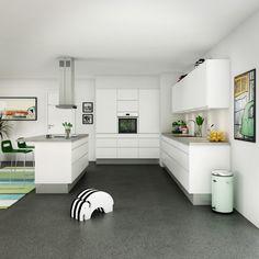 Billedresultat for hvidt moderne køkken