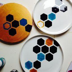 Servies Hexagon