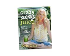 C Bomb juice recipe from Kris Carr: 1 cucumber, 4 stalks celery, 2 small apples, 1 1/2 cups red cabbage,  1-inch piece of ginger, peeled