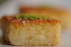 حلوى الهريسة من الشيف ديما الشريف