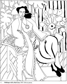 coloring pages of famous artists - Famous Art Coloring Pages Picasso
