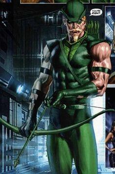 Green Arrow by Mauro Cascioli Dc Comics Characters, Dc Comics Art, Marvel Dc Comics, Dc Heroes, Comic Book Heroes, Comic Books Art, Comic Art, Cultura Nerd, Arrow Black Canary