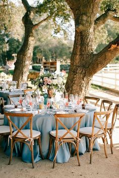 beautiful entertaining set up