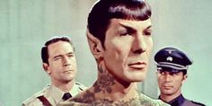 Spock and 13 Other Icons Covered in Tattoos, Because Photoshop | Underwire | Wired.com