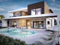 20 best and stunning modern home designs that you can inspire Contemporary house design. Since then, modern homes are the trend, the residential designers struggle to the latest models of modern houses to en . HOME DESIGN Modern House Floor Plans, Chalet Design, Villa Design, Contemporary Decor, Kitchen Contemporary, Contemporary Houses, Contemporary Building, Contemporary Landscape, Landscape Design