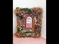 (5) Mixed Media Reverse Canvas Secret Garden - YouTube