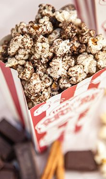 Chocolate-Cinnamon Popcorn