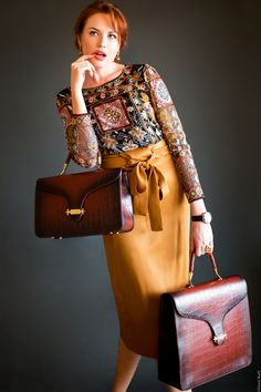 Elegante,llamativo,cómodo,chic!#bags#leather# Nappa de cordero vegetal.