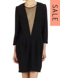 Virginie Castaway Pricilla Dress in Black SALE £95.40