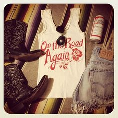 """WEBSTA @ bandit_brand - """"On the Road Again"""" white"""