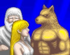 Altered Beast Bro and Athena. Altered Beast.