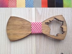 Wooden bow-tie unique gift Oak wood  bow tie Handcrafted Handmade wedding accessories accessory men women France