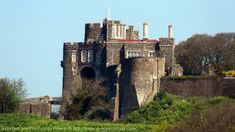 Dover Coronavirus Lockdown Blog UK: Constable's Gate and Queen Mary's Tower, Dover Cas...