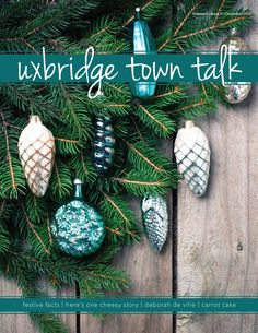 December's Cover Check out our website to read issues of UTT Local Magazine, Website, Christmas Ornaments, Reading, Holiday Decor, Cover, Check, Christmas Jewelry, Reading Books