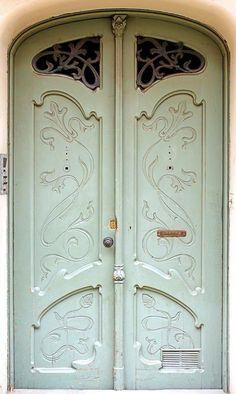 Barcelona - Gran de Sant Andreu 033 d by Arnim Schulz Cool Doors, Unique Doors, The Doors, Windows And Doors, Art Nouveau, Art Deco, Grand Entrance, Entrance Doors, Doorway