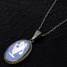 Image detail for -Antique Jewellery - Genuine Wedgwood Sterling Silver Pendant Necklace ...