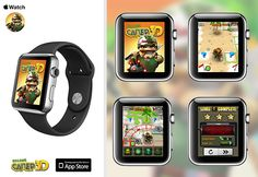 Crazy Sapper (Бравый Сапер) game apple watch concept on Behance
