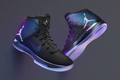 Three Air Jordan Sneakers go Iridescent for NBA All-Star Game 2017 - EU Kicks: Sneaker Magazine