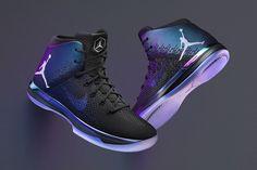 Three Air Jordan Sneakers go Iridescent for NBA All-Star Game 2017 - EU Kicks: Sneaker Magazine