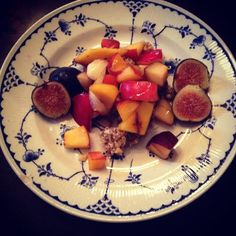 Raw Stone Fruit Cobbler Stone fruit is in season right now and there are so many great recipes out there using peaches, plums, yellow and white nectarines. This recipe is perfect for dessert, possibly for breakfast on a s...
