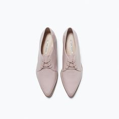 Image 4 of LACE-UP BLUCHER from Zara