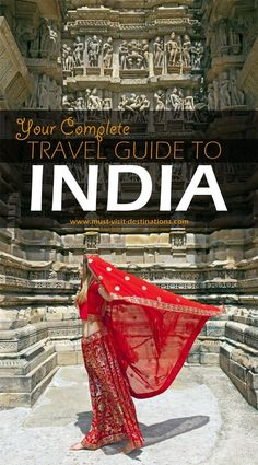 An awesome travel guide to help plan your trip to India. India travel tips; what to do in India; what to see in India Travel Goals, Travel Advice, Travel Guides, Travel Tips, Travel Hacks, Travelling Tips, Budget Travel, Traveling To India, Travel Info