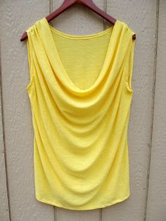 Drape Neck Tank tutorial. Beautiful!