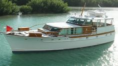 Trumpy ........55' 1966 Wooden Speed Boats, Hope Floats, Chris Craft Boats, Motor Yachts, Classic Wooden Boats, Cabin Cruiser, Classic Yachts, Cool Boats, Sport Fishing