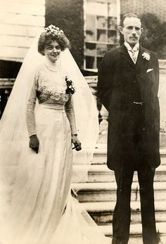 1909 bride and groom.