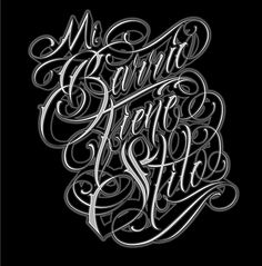 Mi Barrio Tiene Stilo new upcomig tee for my Clothing Brand Named AGS Brand Tattoo Lettering Styles, Tattoo Fonts Cursive, Chicano Lettering, Graffiti Lettering Fonts, Hand Lettering Alphabet, Graffiti Alphabet, Typography Letters, Lettering Design, Script Lettering