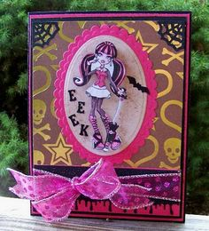 Draculaura Monster high card