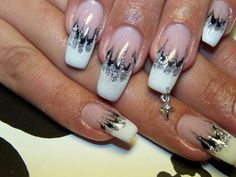 Love these nails! I've always wanted a pierced nail!!