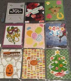 Year around Holidays Pocket Letter Created by Christina Ellis