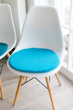 Chair Cushion In Aqua, Suitable For Eames Chair, Limited