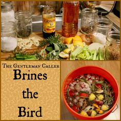 Learn how to make the perfect turkey with The Gentleman Caller's easy brining procedure. Guaranteed to give you perfect juicy turkey - even the white meat - every time.