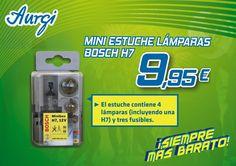 Oferta Miniestuche Lámparas Bosh H7 para Primavera (Válido del 10 de abril al 10 de mayo 2015).  AMPLIADO HASTA EL 11 DE JUNIO 2015. Más información en www.aurgi.com/