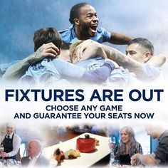See all the action from the best seats in the stadium and enjoy fantastic food and drink at a game of your choice! Link in bio. #plfixtures #mcfc #mancity #manchestercity