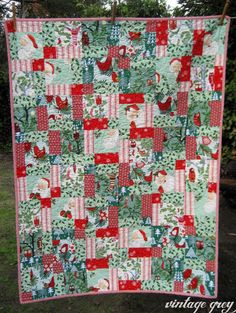 Sampaguita Quilts: Christmas is coming | Quilt Projects & Patterns ... : vintage christmas quilt - Adamdwight.com