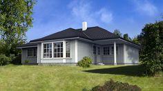 Hus Onyx 1 - klassisk. Ferdighus fra HIBA HUS - HIBA HUS