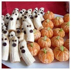 Cute Halloween snack DIY