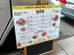 Hasil gambar untuk menu board food truck