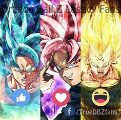 Which One you choose #dbz #dragonballz #goku