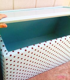 Upholstered Toy Boxes from Old Kitchen Cabinets! I so need to do this, My hubby is a Kitchen Designer. Pretty sure he has Lots of OLD Cupboards at his disposal :)