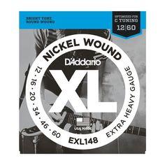 D'Addario XL Nickel Wound Electric Guitar Strings