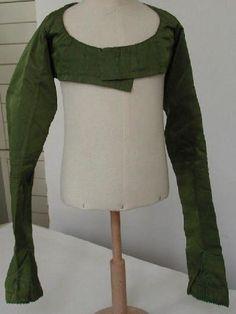 Spencer, late 1790s silk