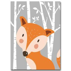 Rabbit Fox Bear Animal Nursery Posters and Prints Wall Art Canvas Painting Decorative Picture Nordic Style Kids Decoration Canvas Poster, Canvas Artwork, Print Poster, Canvas Art Prints, Nursery Canvas, Nursery Paintings, Nursery Pictures, Print Pictures, Scrapbooking Image