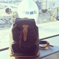 Essa mochila da #LouisVuitton foi uma das minhas primeiras...